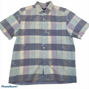 Tommy Bahama Short Sleeve Silk Shirt Sz M